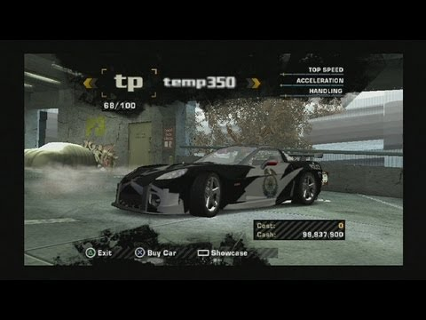 Need for Speed Most Wanted PS2 hacked save (police ... Ps2 Need For Speed