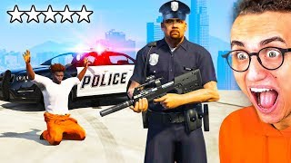 Playing GTA 5 As THE POLICE!