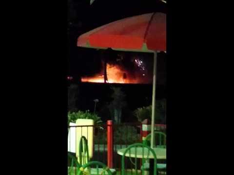 Explosion in Bakersfield (Rosedale Hwy & Coffee Road)