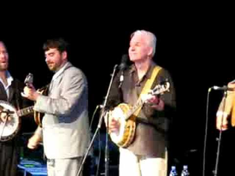 "Steve Martin ""Late For School"" Live in Brevard, NC. With the Steep Canyon Rangers"