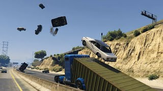 GTA 5 - INSANE RAMP TRUCK MOD !!!