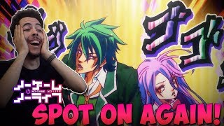 DARIUS REACTS | NO GAME NO LIFE IN 7 MINUTES - WAY TO ACCURATE!!