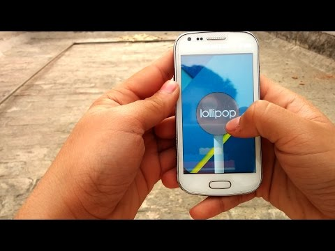 Android Lollipop rom on s duos GT 7562 (tutorial + review)