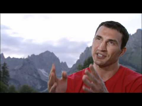 Wladimir Klitschko interview from Austria