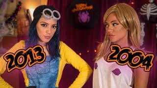 Popular Halloween Costumes Through the Years!! Niki and Gabi