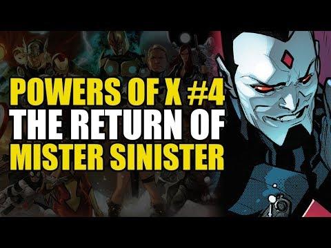 X-Men Powers of X Part 4: Return of Mister Sinister | Comics Explained