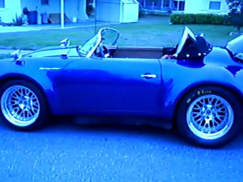 1957 Porsche Speedster Tube Chassis Water Cooled 6 Cyl Turbocharged And Inner Cooled Car