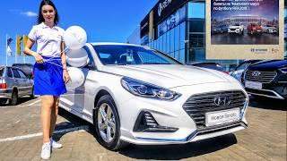 New Hyundai Sonata 2018 2,4 GDi  188 л. с. Тест драйв Hyundai ТрансТехСервис