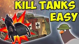 BATTLEFIELD 1 JEEP STUFF !!! [ Land mine on sidecar glitch ]