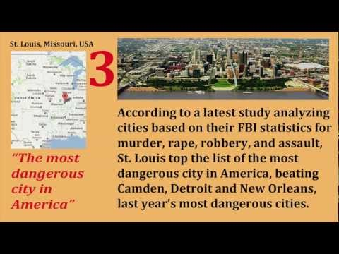 10 Most Dangerous Cities in the World in 2011