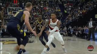 Portland Trail Blazers vs Indiana Pacers - Blazer Highlights - October 20, 2017