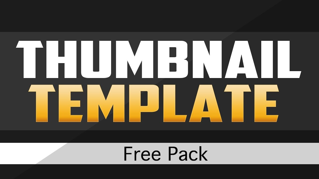 Thumbnail Template | Youtube Thumbnail Template