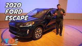 2020 Ford Escape Preview - 4th Generation, completely redesigned
