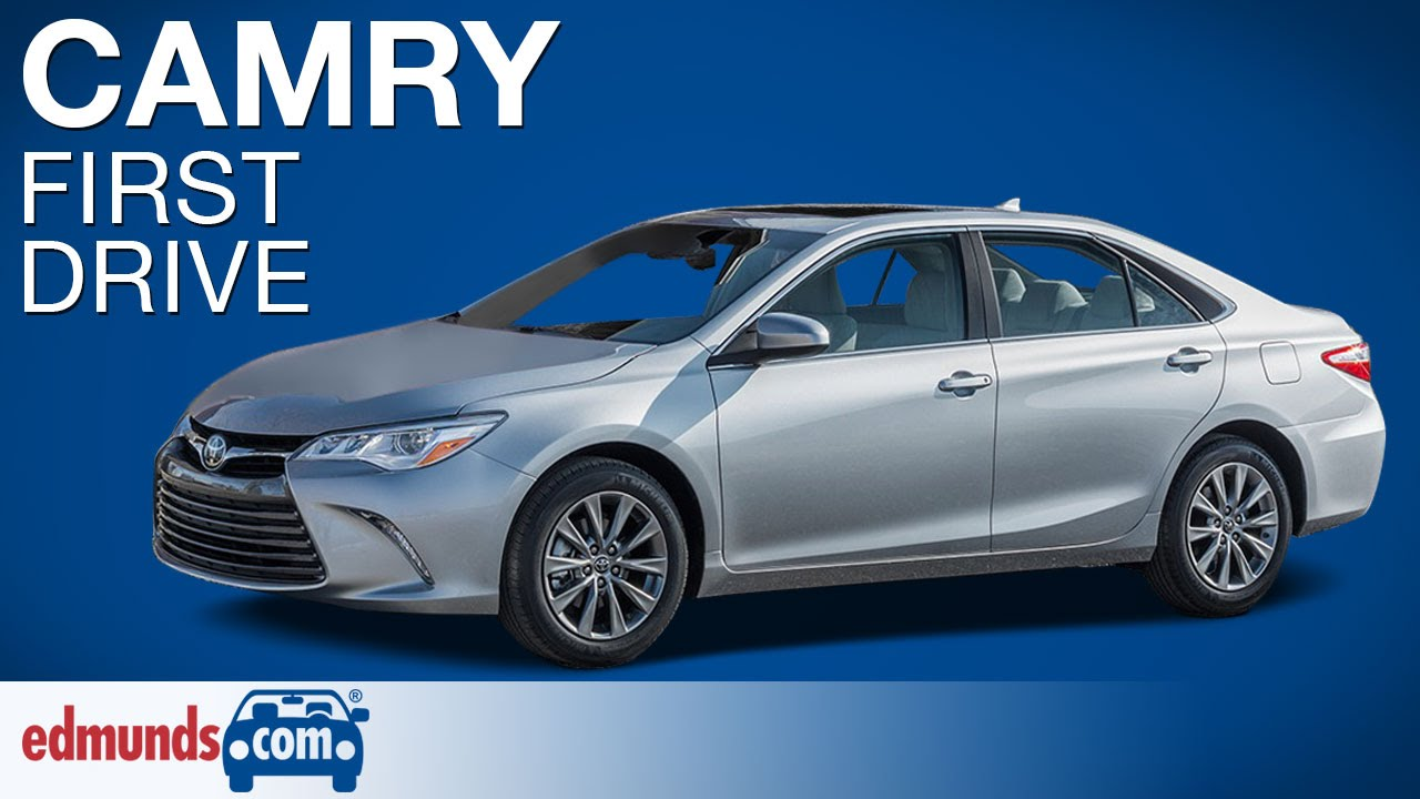 Model 2015 Toyota Camry First Drive  YouTube