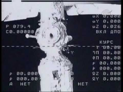 Soyuz TMA-16 Relocation (time lapse)