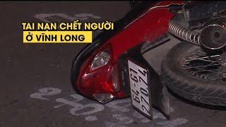 Ô tô 4 chỗ va chạm với xe máy cùng chiều, 1 người chết ở Vĩnh Long