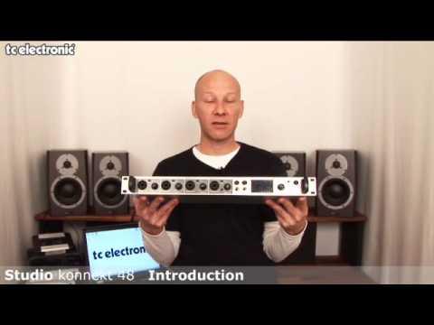 interface audio Studio Konnekt 48 de TC Electronic : présentation