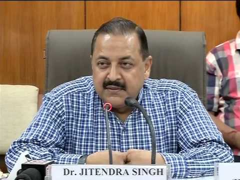 IAS toppers receive merit certificates from Dr. Jitendra Singh