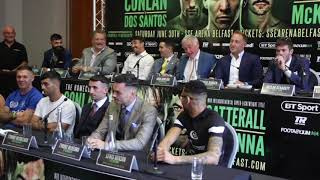 FULL HEATED EXCHANGE BETWEEN JONO CARROLL & DECLAN GERAGHTY IN PRESS CONFERENCE!  - *THE HOMECOMING*
