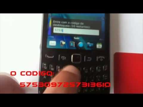 Como Desbloquear BlackBerry Curve 9220 em 24H (Portugal)