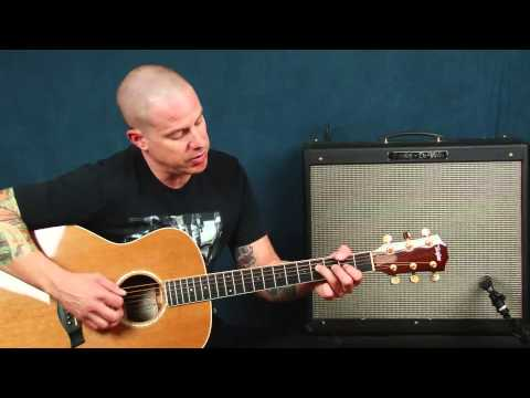 Learn country guitar Rascal Flats inspired lesson chords ideas devices What Hurts The Most style