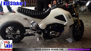 Honda MSX 125 New modified in Cambodia 2016 Part1