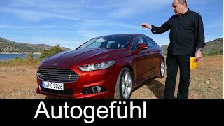2015 All-new Ford Mondeo REVIEW test drive Ford Fusion - Autogefühl