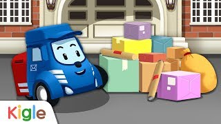 우편 배달차 포스티! | 폴리 직업놀이 05 | 로보카폴리 게임 | 키글TV