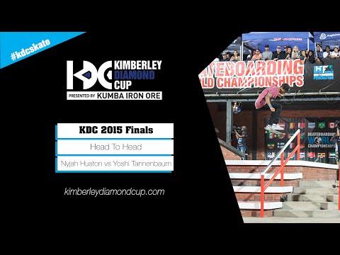 KDC 2015 Street Finals: Nyjah Huston vs Yoshi Tannenbaum