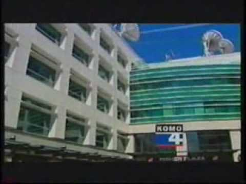 KOMO-4 Newscast following Fisher Plaza Fire