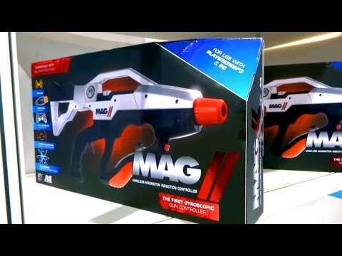 MAG 2 Gun Controller for XBOX 360. PS3 & PC (CES 2013)