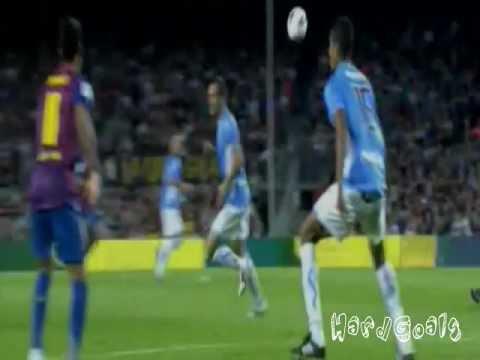 Lionel Messi Hat-Trick vs Osasuna - (FC Barcelona vs Osasuna 8-0) - [17.09.2011]