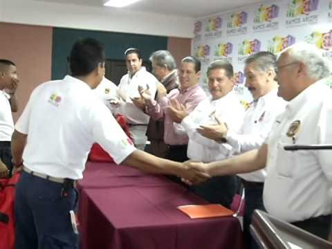 Entregan equipo a Bomberos de Ramos Arizpe
