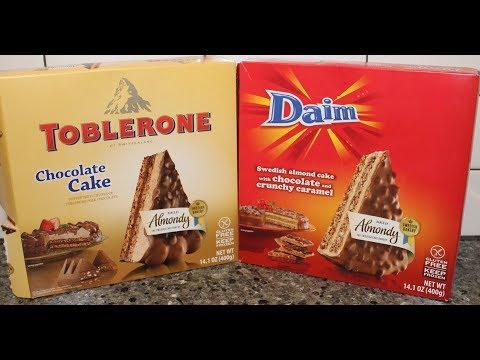 Toblerone Chocolate Cake & Daim Swedish Almond Cake Review