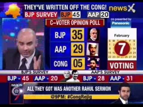 Now, battle of polls in Delhi: C-Voter opinion poll