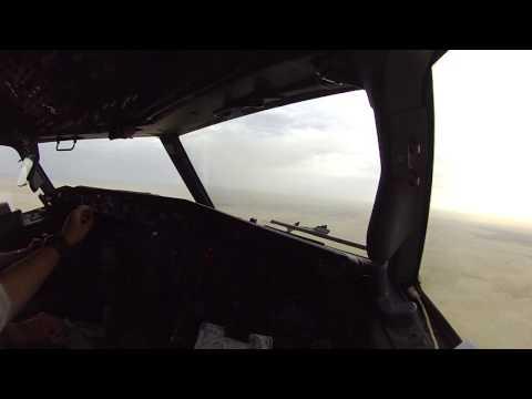 Landing Dammam, KSA
