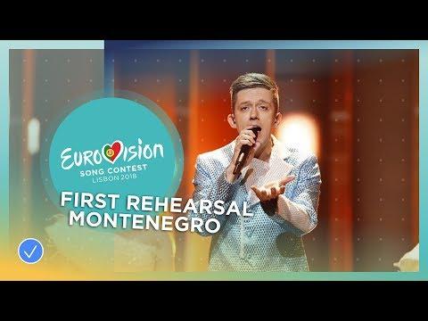 Vanja Radovanović - Inje - First Rehearsal - Montenegro - Eurovision 2018