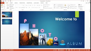 PowerPoint training |How to Make an Animated Slideshow Presentation Count Down Text and Images