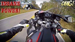 2017 Honda CBR1000RR Test Ride + 6th Gear Wheelie