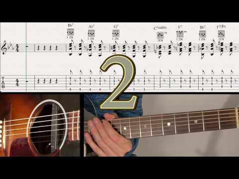 Ben-T-Zik/DOXY/Guitar Duo Tutorial #11 + SCORE/TAB (GYPSY SWING Rhythm !)
