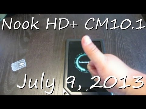 July 9. 2013 - Nook HD+ CM10.1