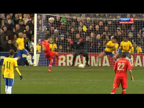 Россия - Бразилия 1-1 ОБЗОР Russia vs Brazil HD