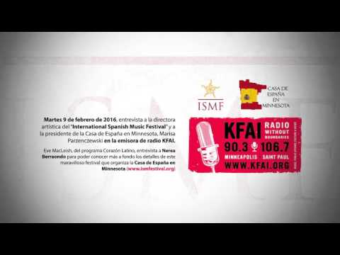 Entrevista ISMF en Corazon Latino