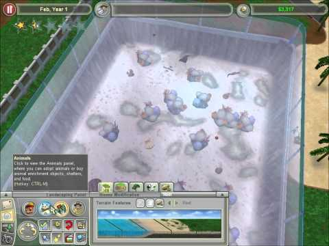 Zoo Tycoon 2 Marine Mania The Marine Diversity Zoo Part 1  #TGNArmy