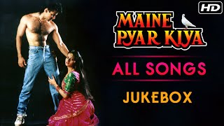 Maine Pyar Kiya All Songs Jukebox (HD) | Salman Khan & Bhagyashree | Evergreen Bollywood Hindi Songs