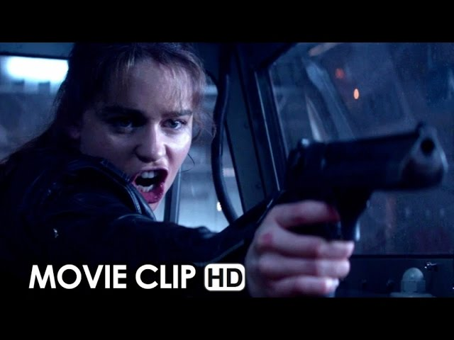 Terminator Genisys Movie CLIP 'Come With Me If You Want to Live' (2015) HD