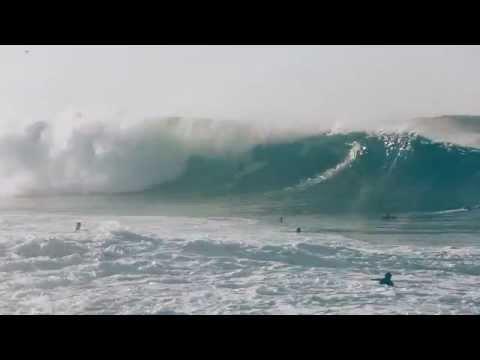The Wedge at Newport Beach, California - (HD) Hurricane Swell - August 27, 2014