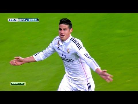 James Rodriguez vs Malaga Home HD 1080i by James10i