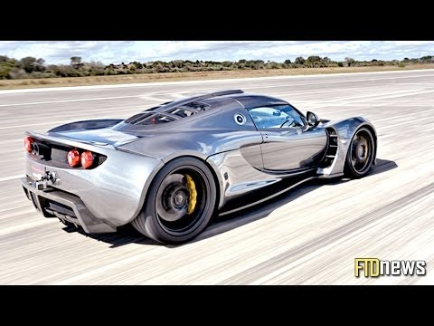 World's Fastest Car - Hennessey Venom GT - 270.49 mph