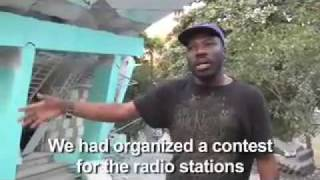 Haiti - Saks Office Destroyed